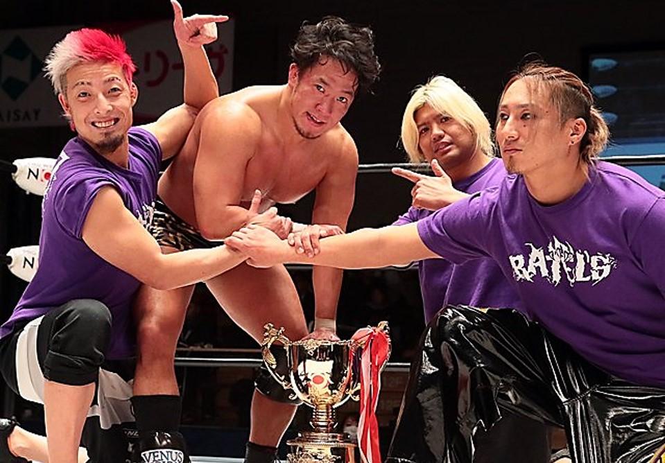 "NOAH: ""Global Jr. League 2020"" Daisuke Harada se lleva la gloria 1"