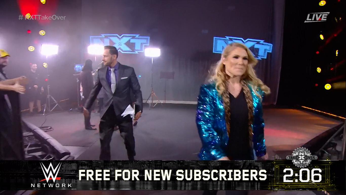 NXT TAKEOVER: PORTLAND (16 de febrero 2020) | Resultados en vivo | Cole vs. Ciampa 7