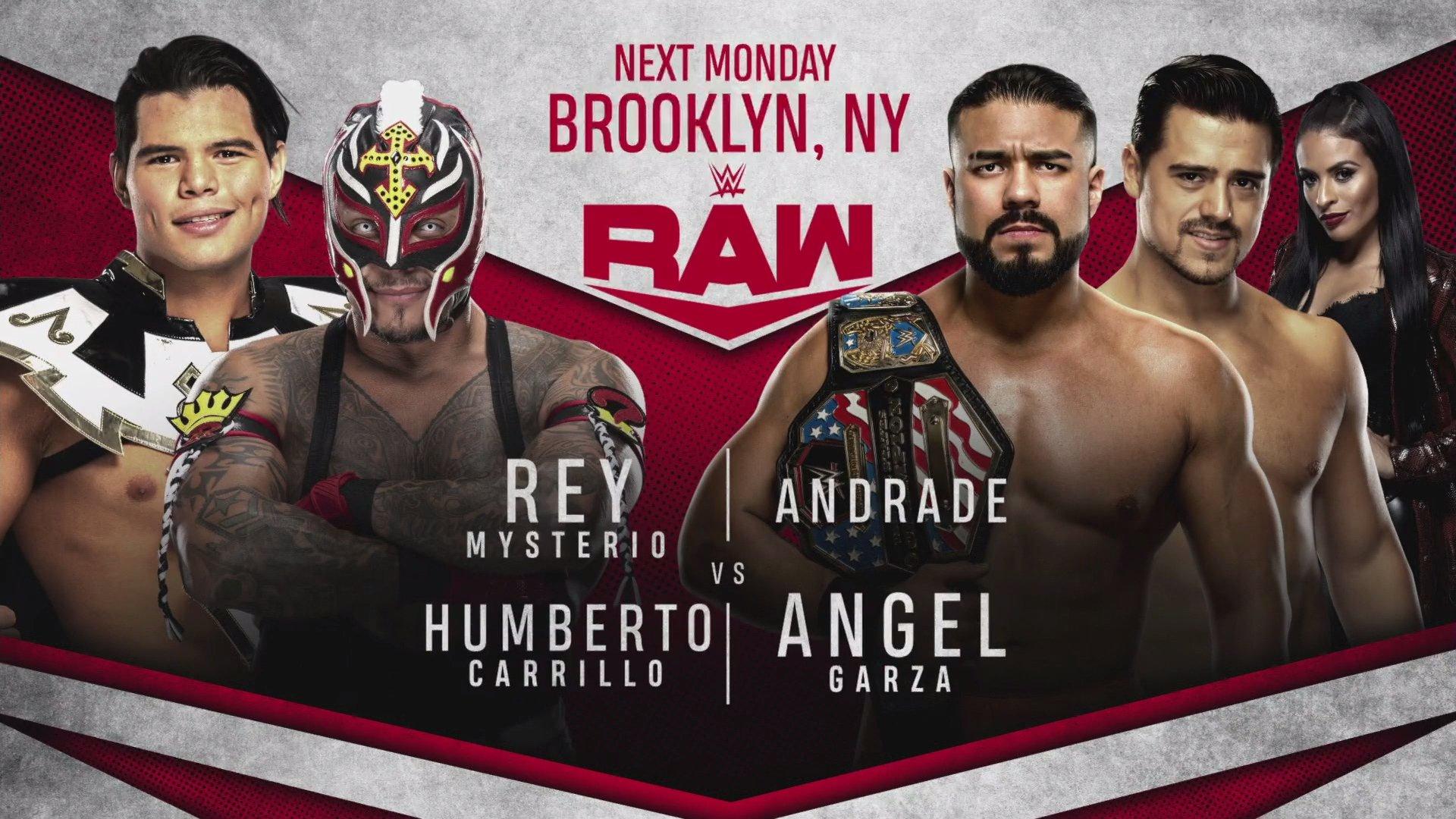 Rey Mysterio y Humberto Carrillo vs. Andrade y Ángel Garza