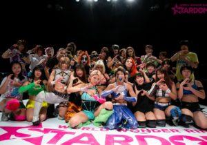 """Stardom: """"New Year Stars 2020"""" Kagetsu contra Stardom 5"""