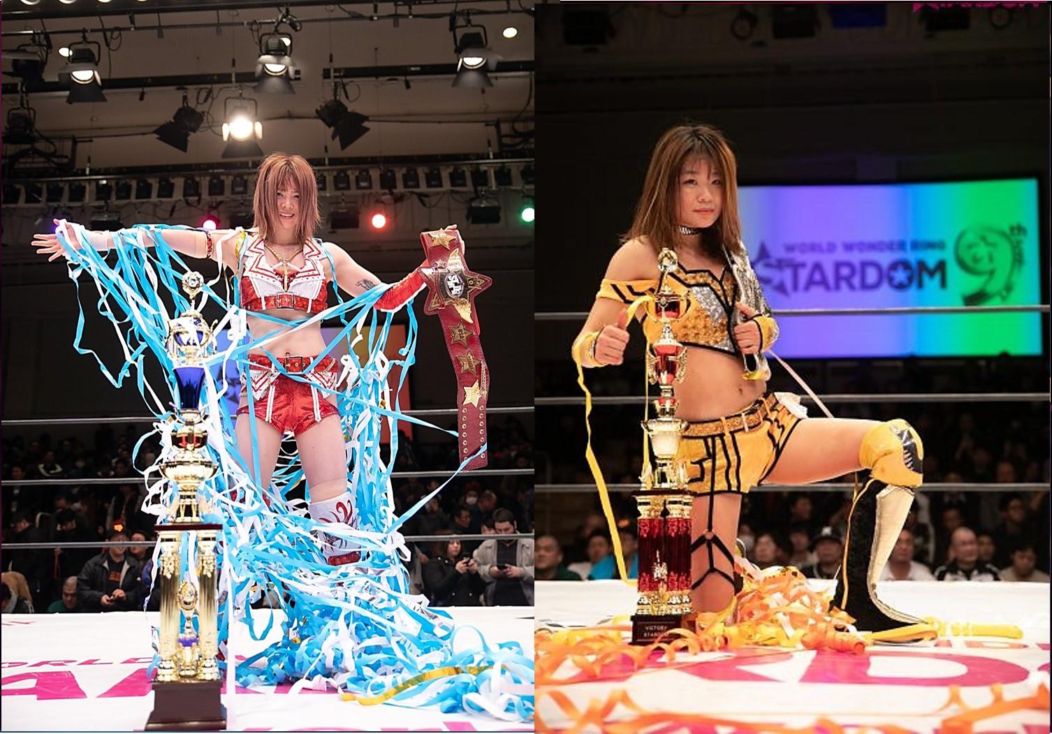 "Stardom: ""Stardom 9th Anniversary"" Hoshiki e Iwatani siguen reinando 3"