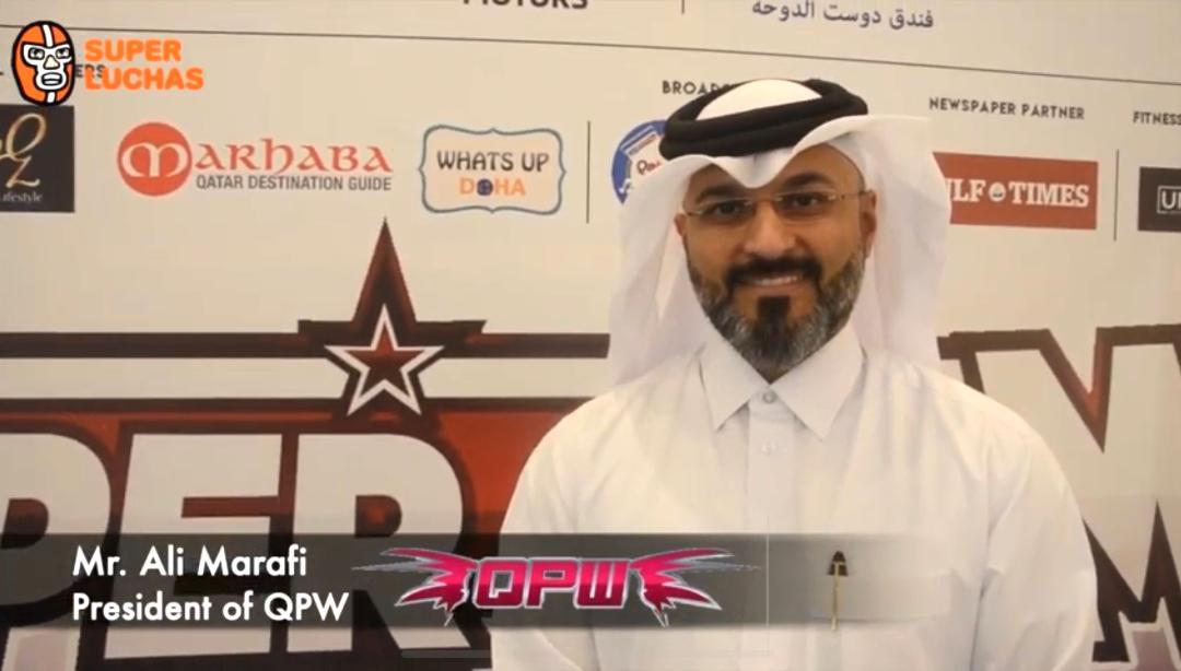 """Ali Marafi: """"En un futuro Qatar Pro Wrestling podría llegar a AMERICA por qué no?"""" 26"""