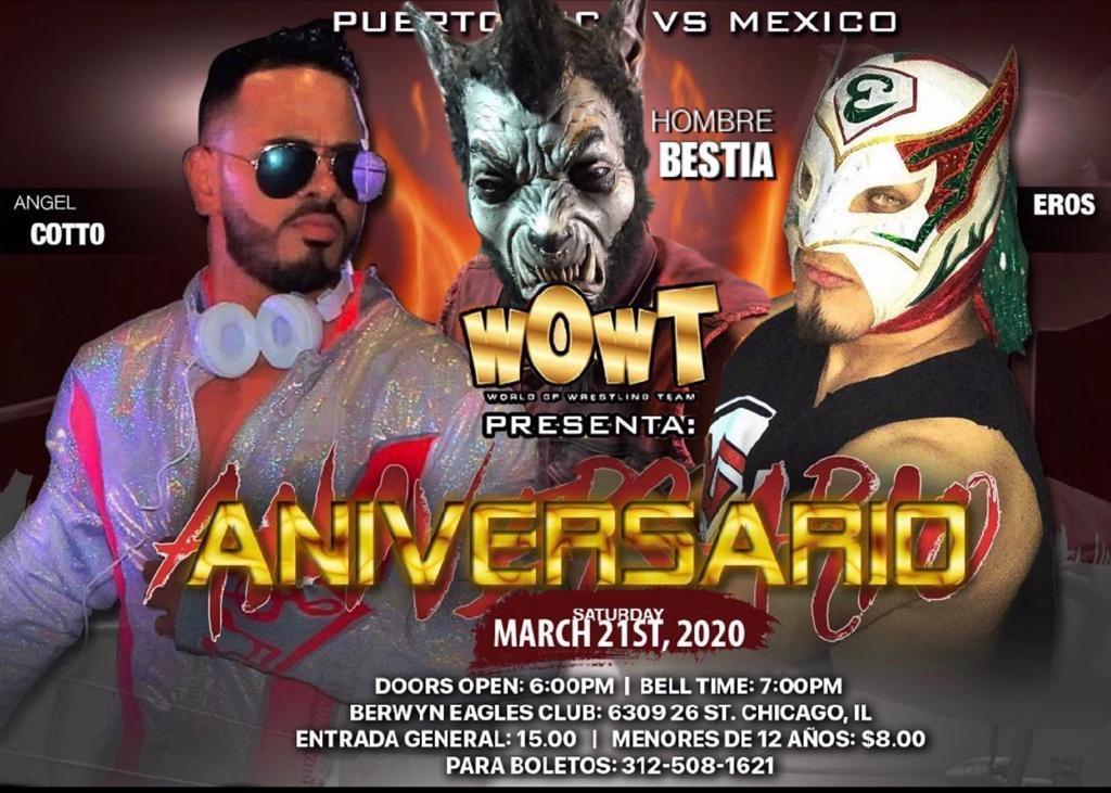 WOWT: El Hombre Bestia llega al Aniversario en Chicago 1