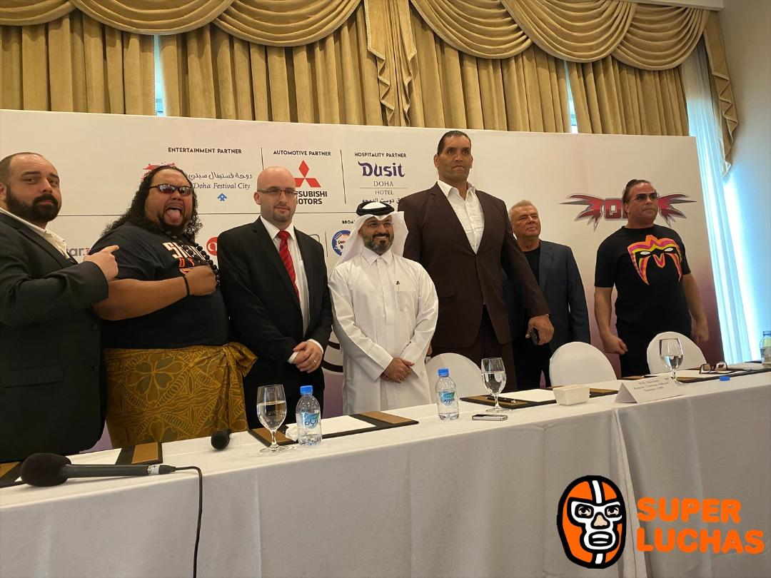 The Great Khali llega a la conferencia de prensa de SUPER SLAM II 5