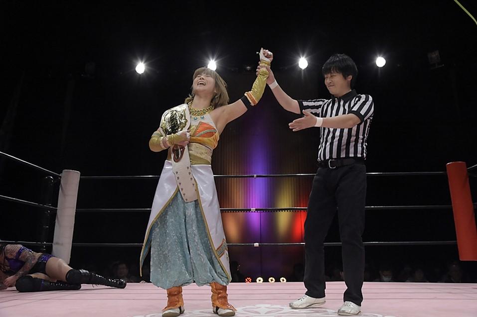 "TJP: ""2020 Winter ~ Wonderful Harmony"" Yuka Sakazaki sigue reinando 2"