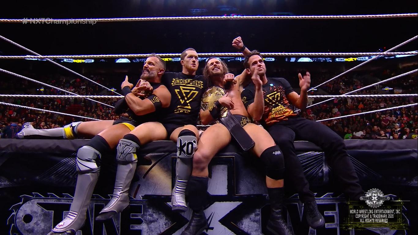 NXT TAKEOVER: PORTLAND (16 de febrero 2020) | Resultados en vivo | Cole vs. Ciampa 63