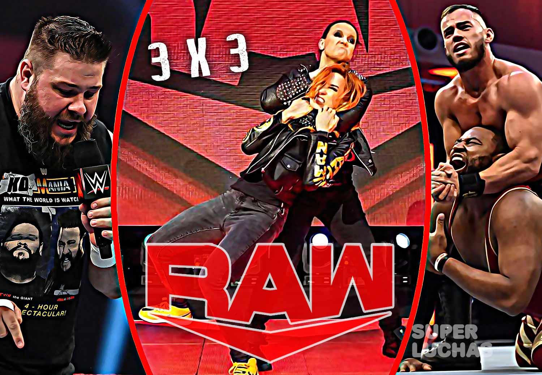 3 x 3: Lo mejor y lo peor de Raw 30 de marzo 2020