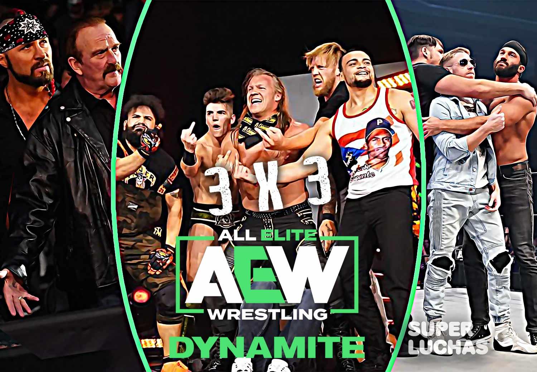 3 x 3: Lo mejor y lo peor de AEW Dynamite 11 de marzo 2020
