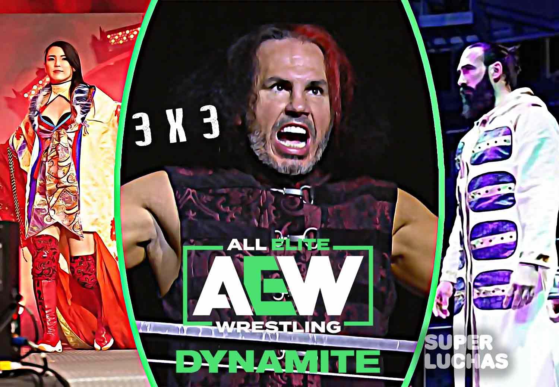 3 x 3: Lo mejor y lo peor de AEW Dynamite 18 de marzo 2020