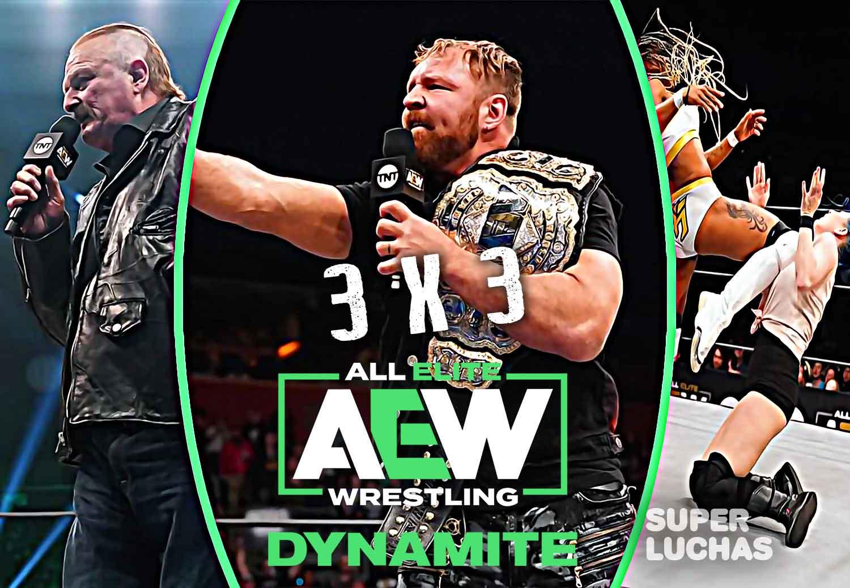 3 x 3: Lo mejor y lo peor AEW Dynamite 4 de marzo 2020
