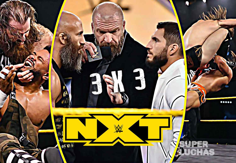 3 x 3: Lo mejor y lo peor de NXT 25 de marzo 2020