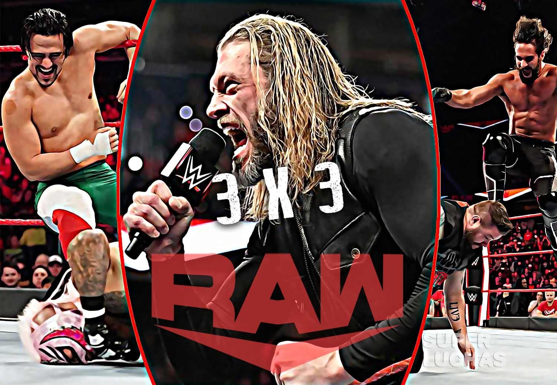3 x 3: Lo mejor y lo peor de Raw 9 de marzo 2020