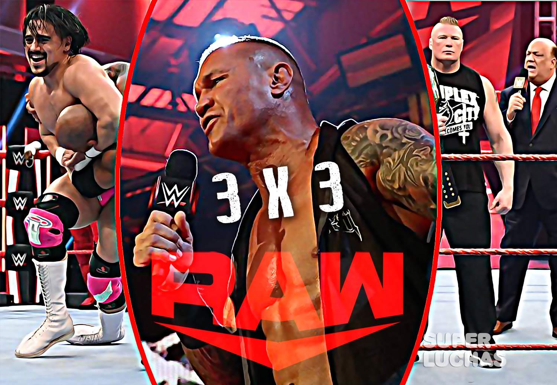 3 x 3: Lo mejor y lo peor de Raw 23 de marzo 2020