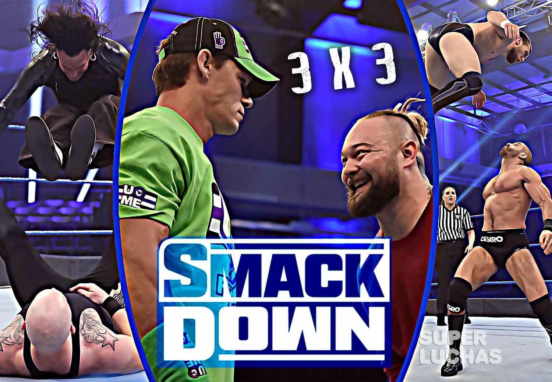 3 x 3: Lo mejor y lo peor de SmackDown 13 de marzo 2020