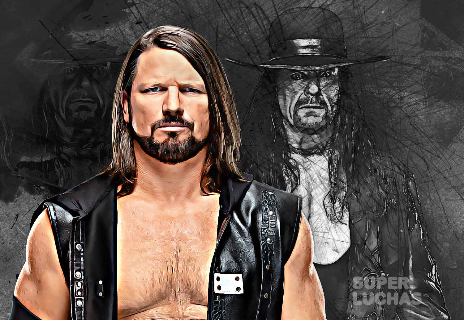 AJ Styles y The Undertaker