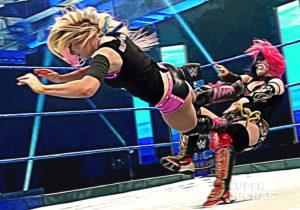 Alexa Bliss vs. Asuka