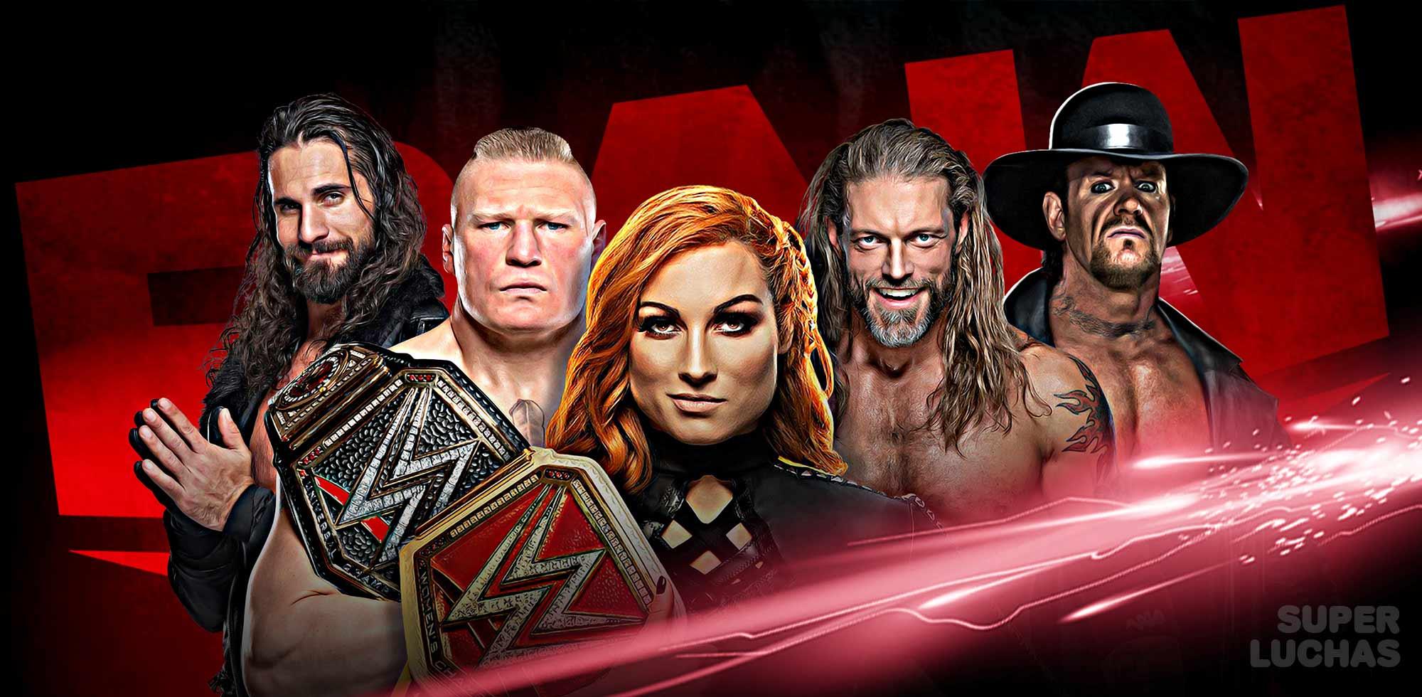 Resultados WWE Raw 30 de marzo 2020
