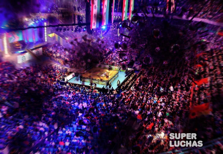 Coronavirus en la lucha libre mexicana