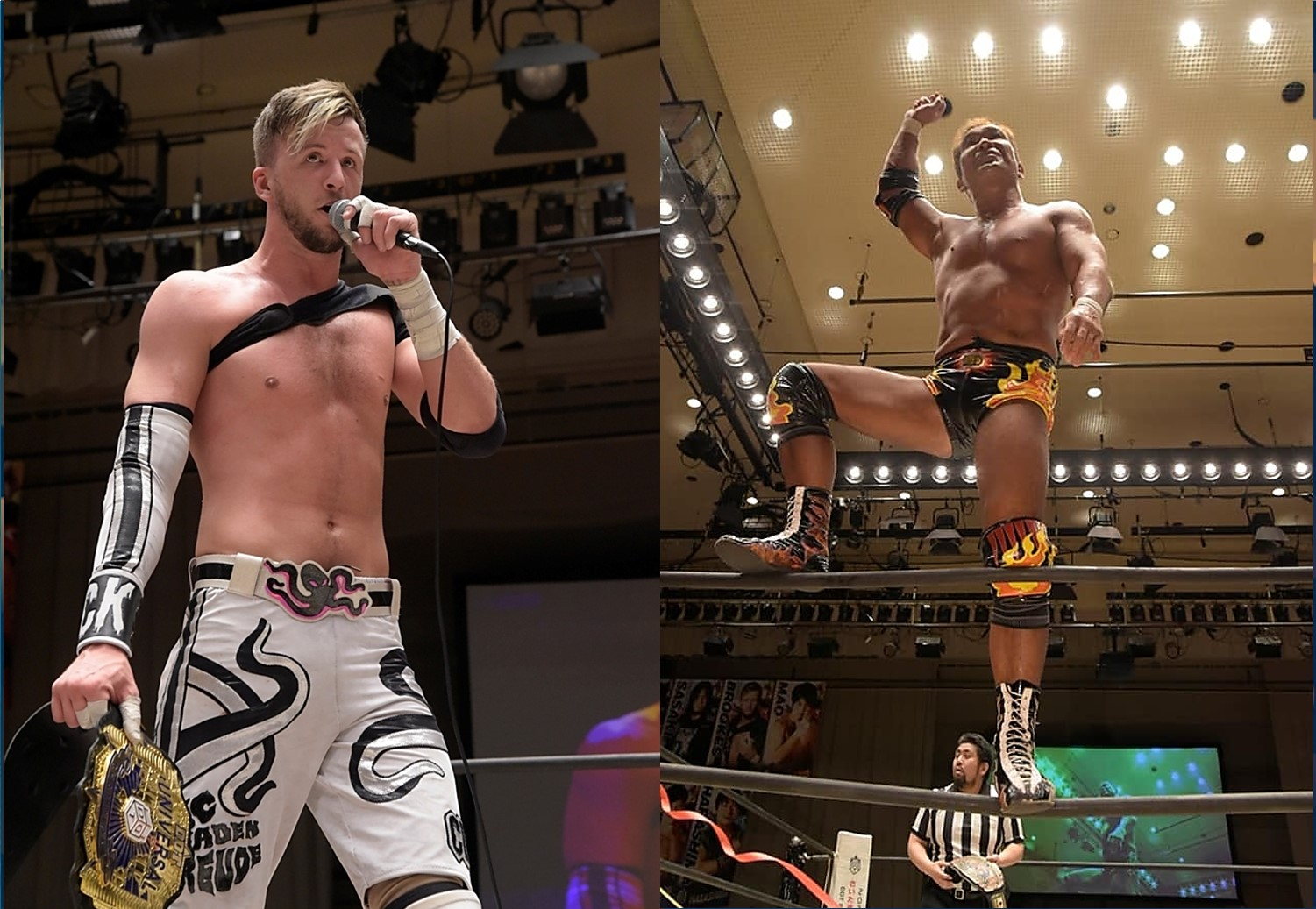 "DDT: ""Into the Fight 2020"" Chris Brookes y Masato Tanaka, monarcas 1"