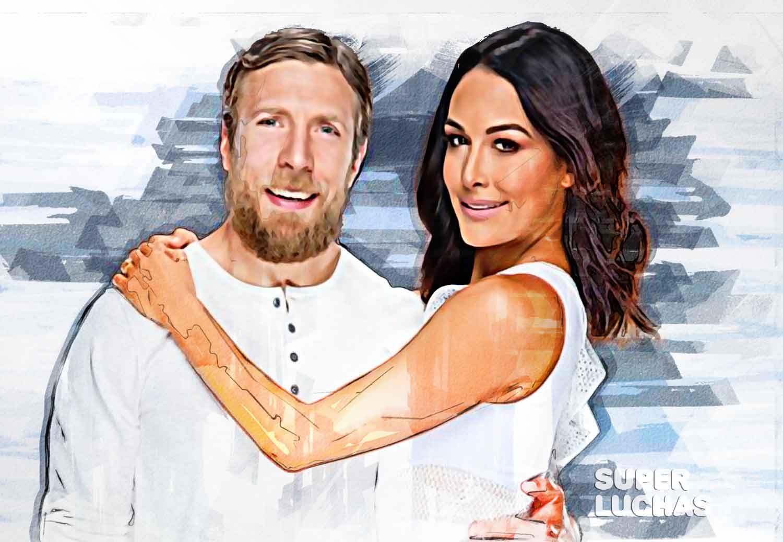 Daniel Bryan y Brie Bella
