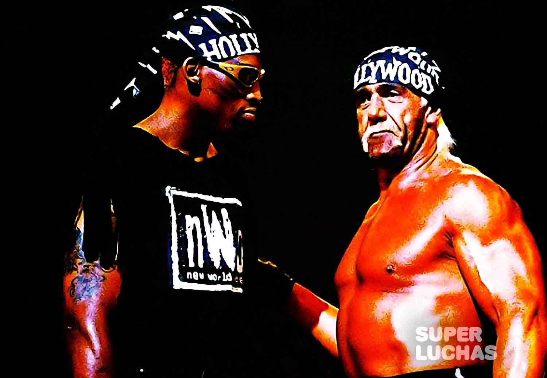 Dennis Rodman y Hulk Hogan