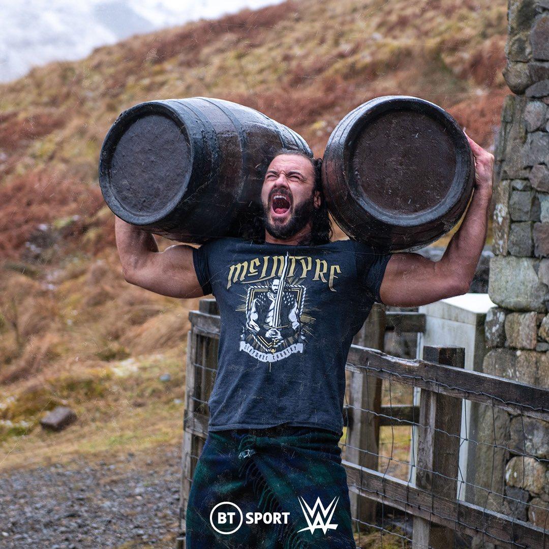 Drew McIntyre y Tyson Fury