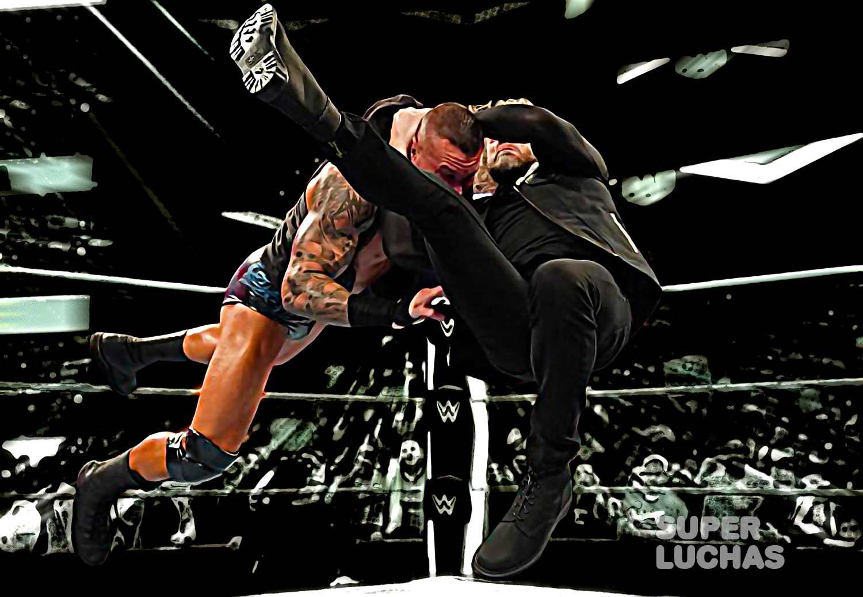 Edge vs. Randy Orton RKO