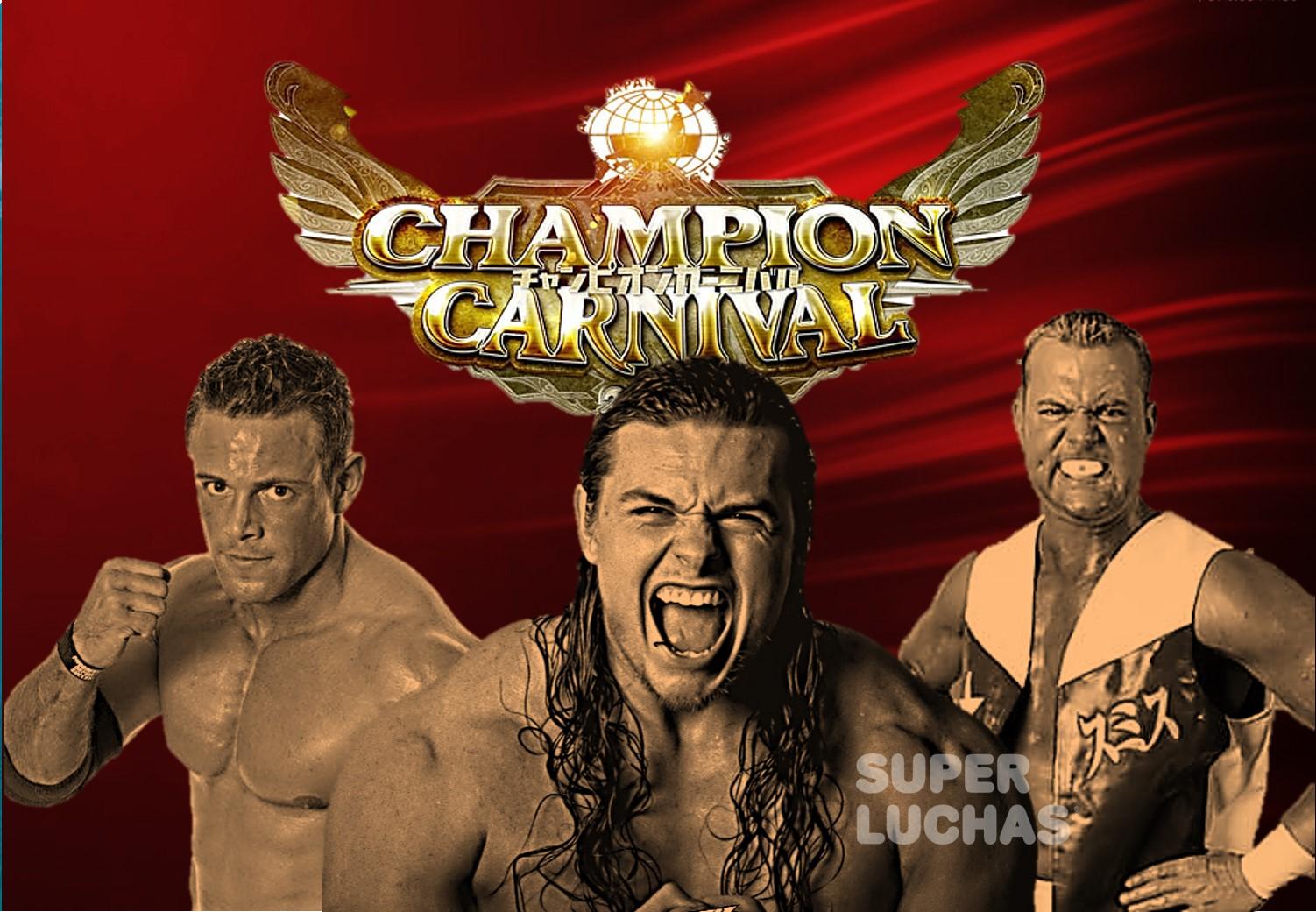 AJPW: Davey Boy Smith Jr. y demás extranjeros fuera del Champion Carnival 5