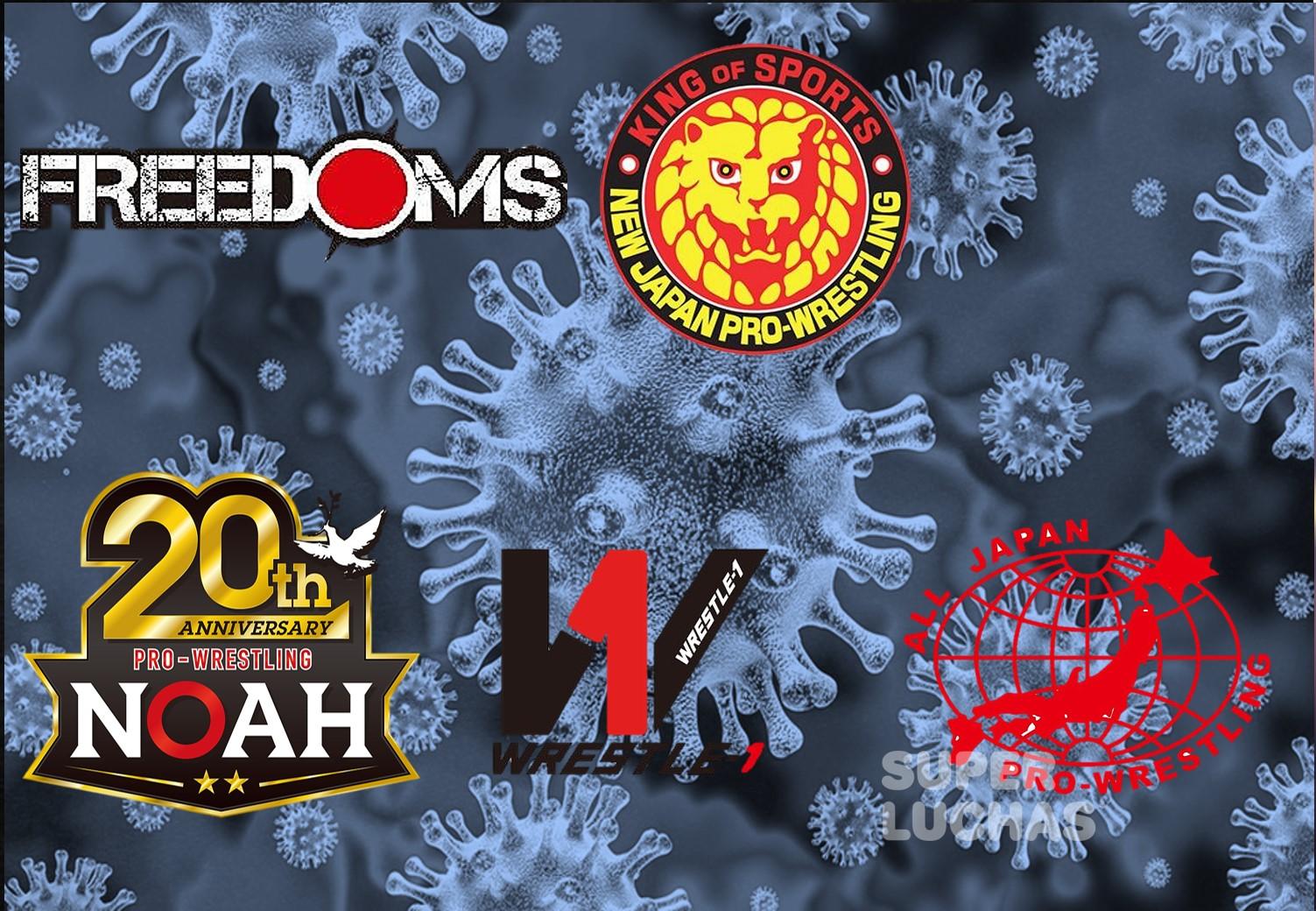 Tras nuevo brote de Coronavirus en Japón hay más cancelaciones en la lucha libre 15