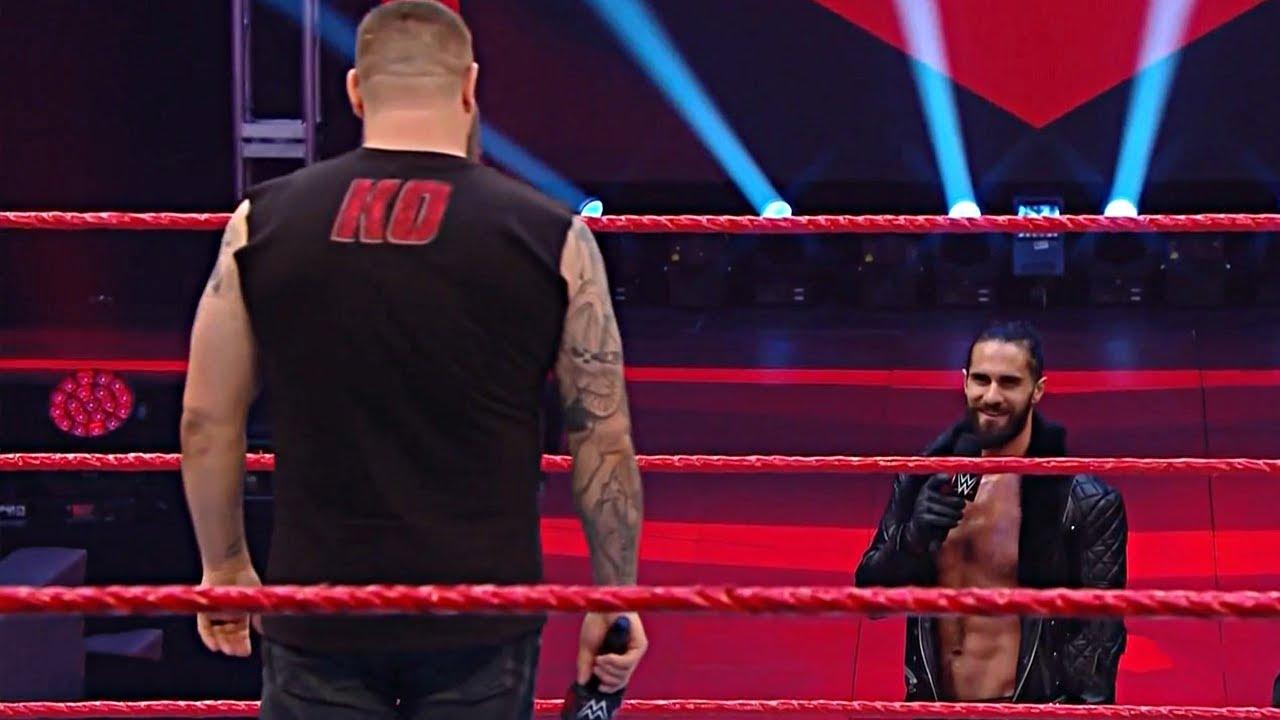Seth Rollins en WrestleMania 36