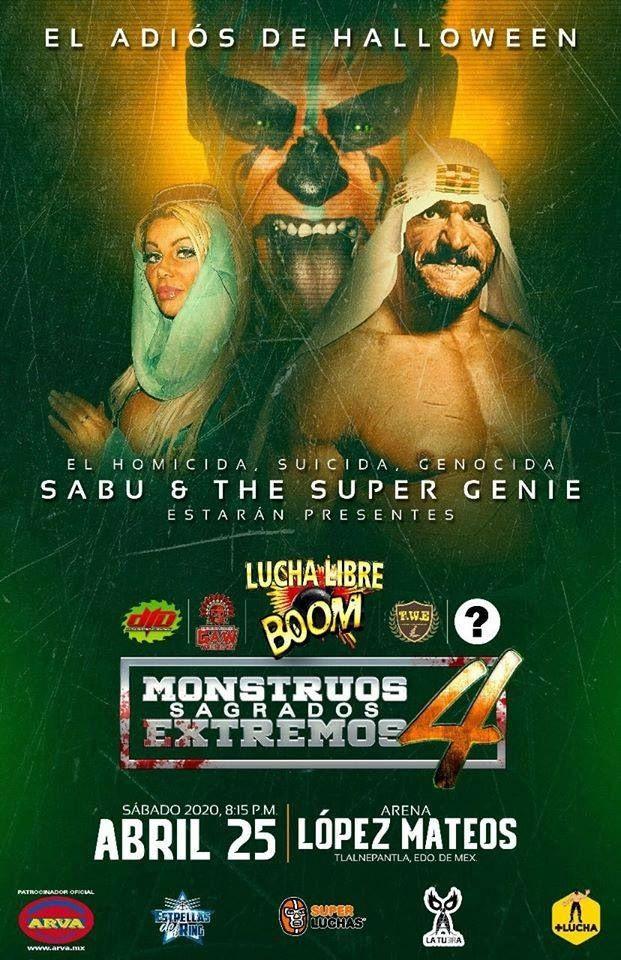 Sabú regresa a México a la gira de despedida de Halloween 1