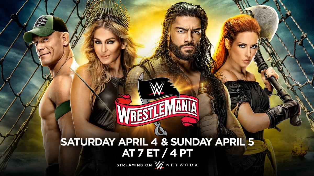 WrestleMania 36 en el Raymond James Stadium