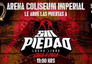 Sin Piedad Cara a Cara, este 14 de marzo en Tultitlan, zona metropolitana de la Ciudad de México
