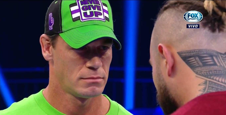 Bray Wyatt y John Cena