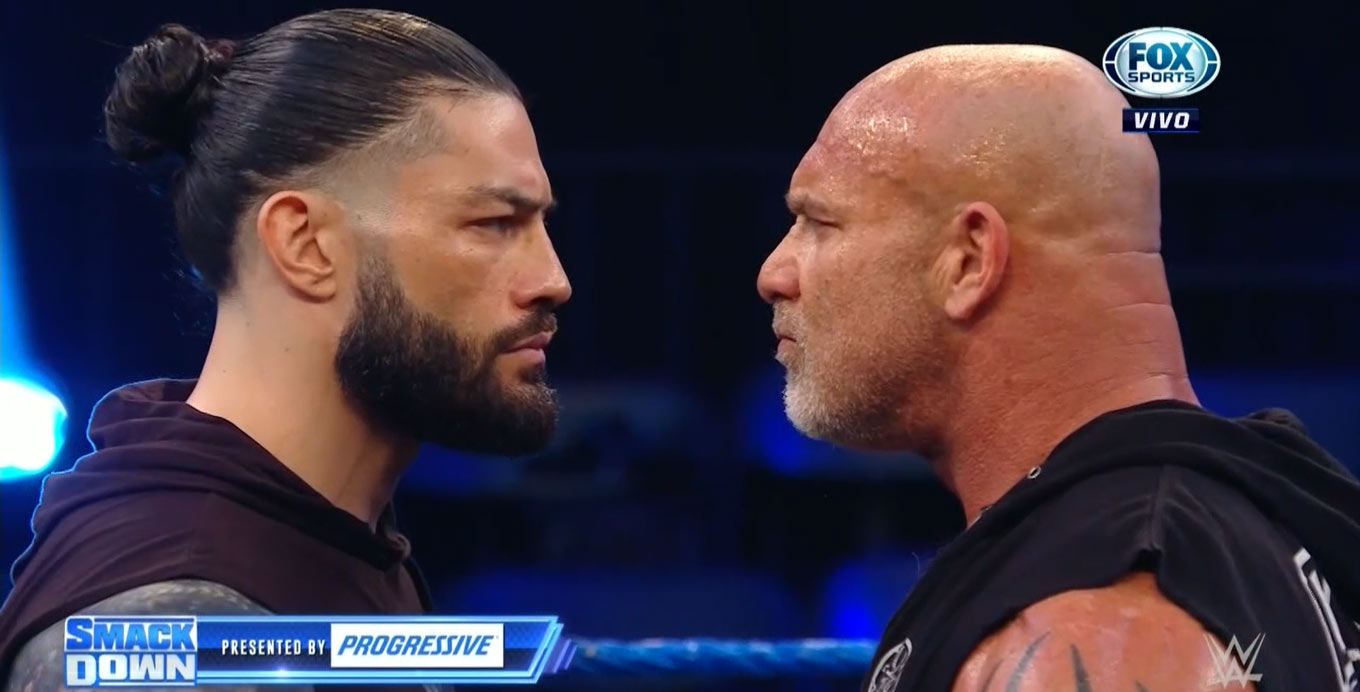 Roman Reigns y Goldberg