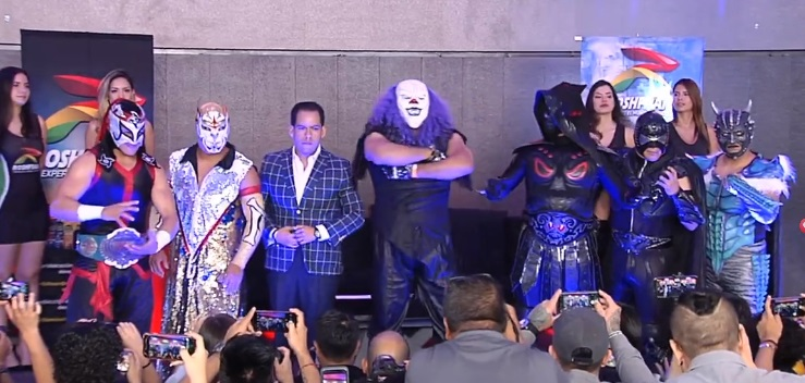 """AAA: Conferencia de Prensa """"Triplemanía XXVIII"""" Definidas las primeras luchas 2"""