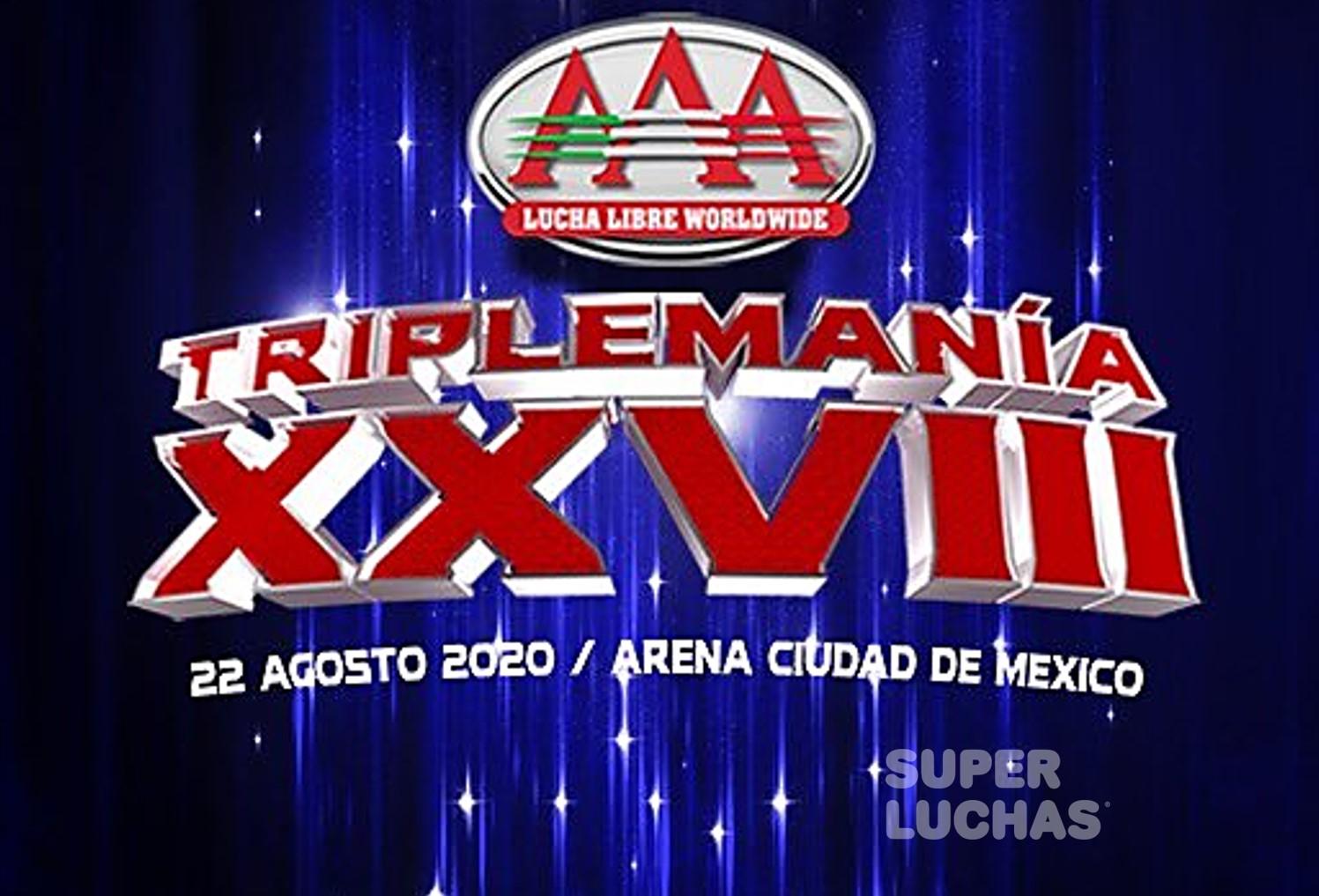 """AAA: Conferencia de Prensa """"Triplemanía XXVIII"""" Definidas las primeras luchas 6"""