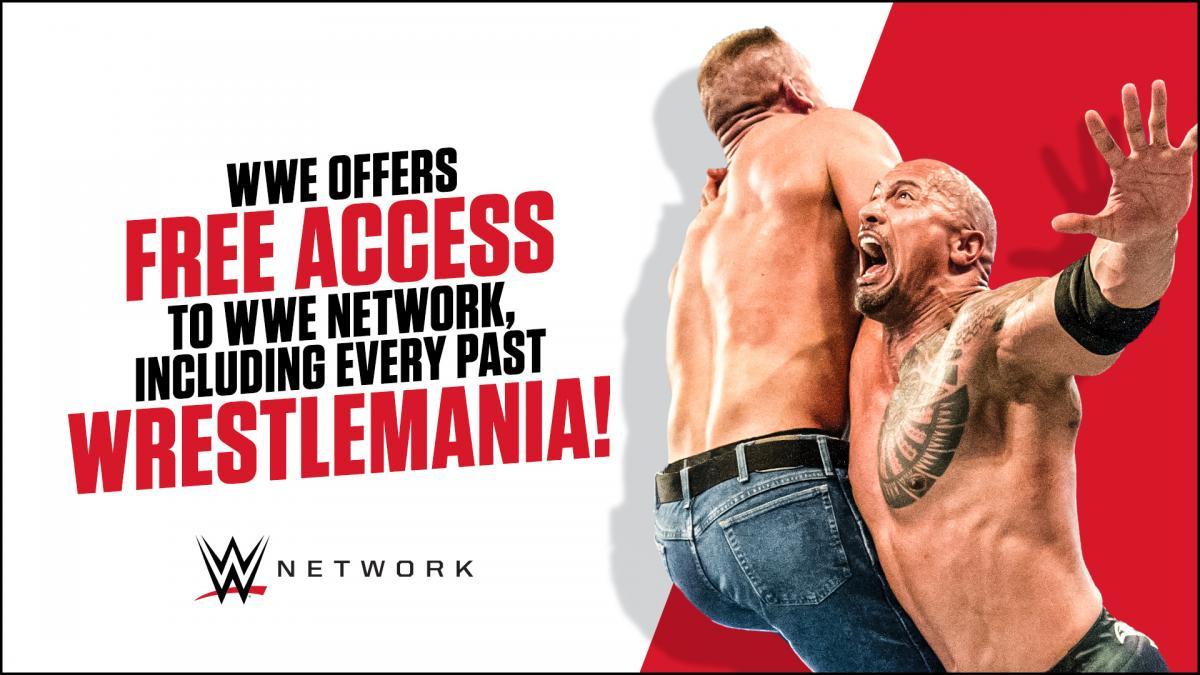 WWE Network será gratis por el coronavirus / WWE