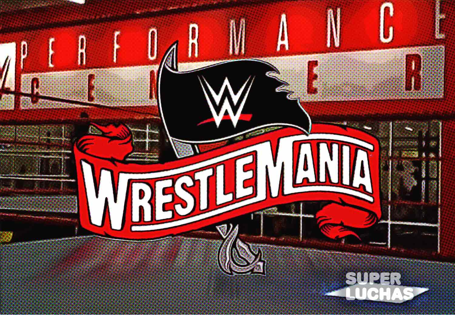 WrestleMania 36 Performance Center