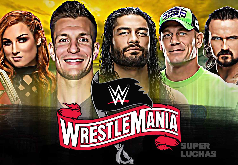 WrestleMania 36 Rob Gronkowski