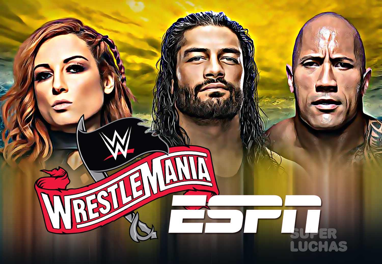 WrestleMania ESPN