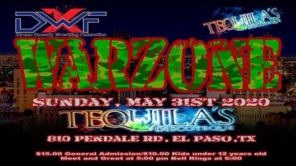 XDWF presenta Warzone Lucha Libre Mexicana en El Paso, Texas 16
