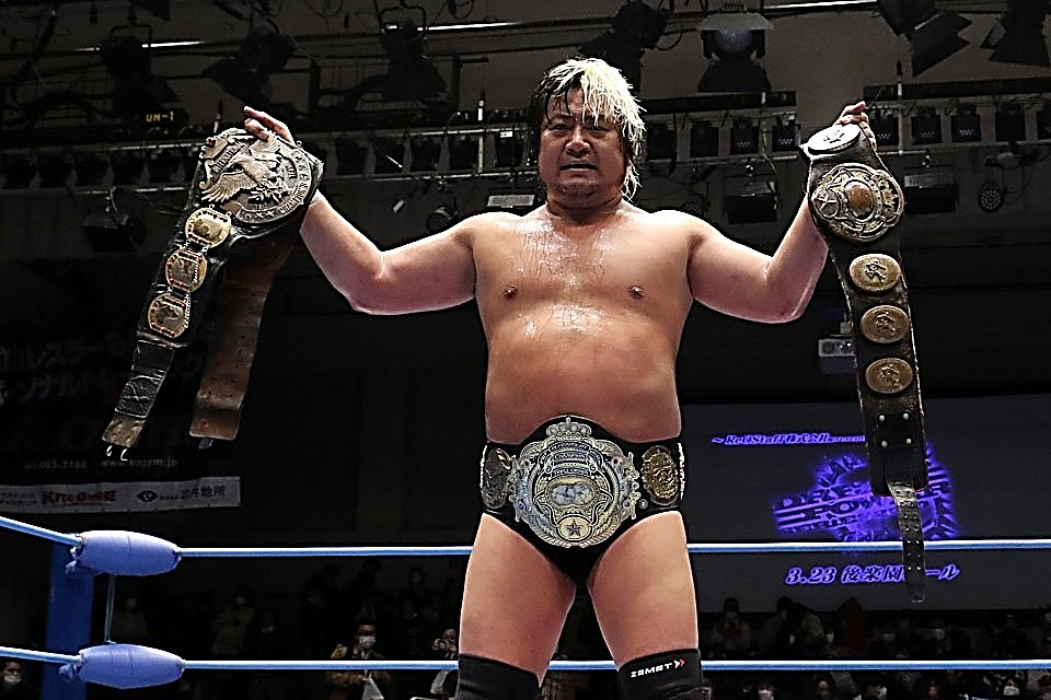 "AJPW: ""Dream Power Series 2020"" Suwama termina el reinado de Miyahara 10"