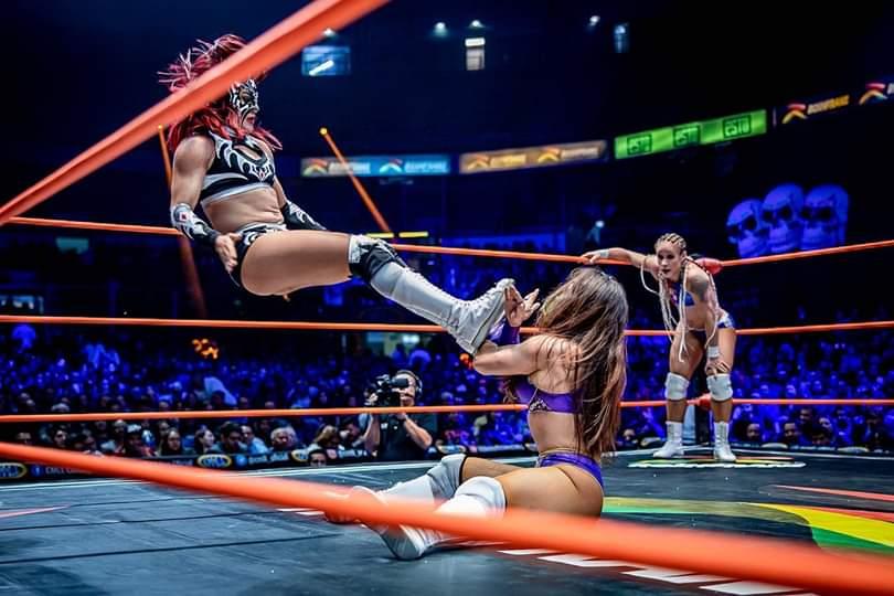 CMLL: Listas las duplas por el Campeonato Nacional Femenil de Parejas 3