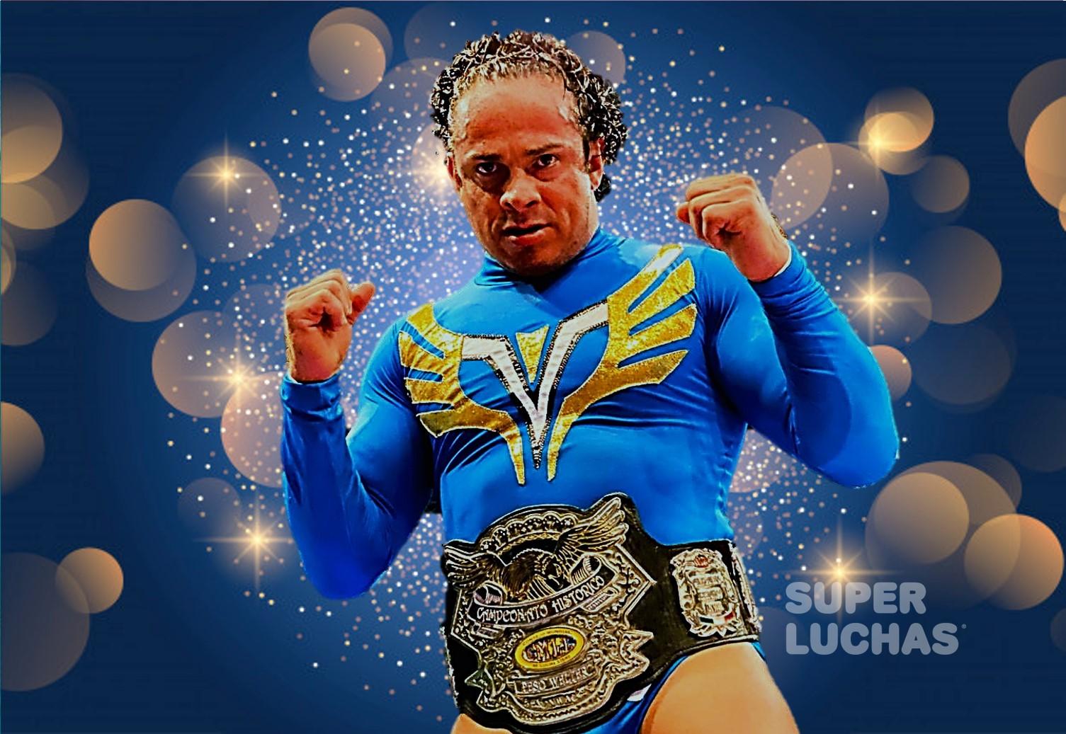 CMLL: Volador Jr. mantuvo su título en Puebla 1
