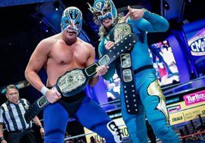 CMLL: Atlantis Jr. y Flyer, nuevos campeones nacionales de parejas 2