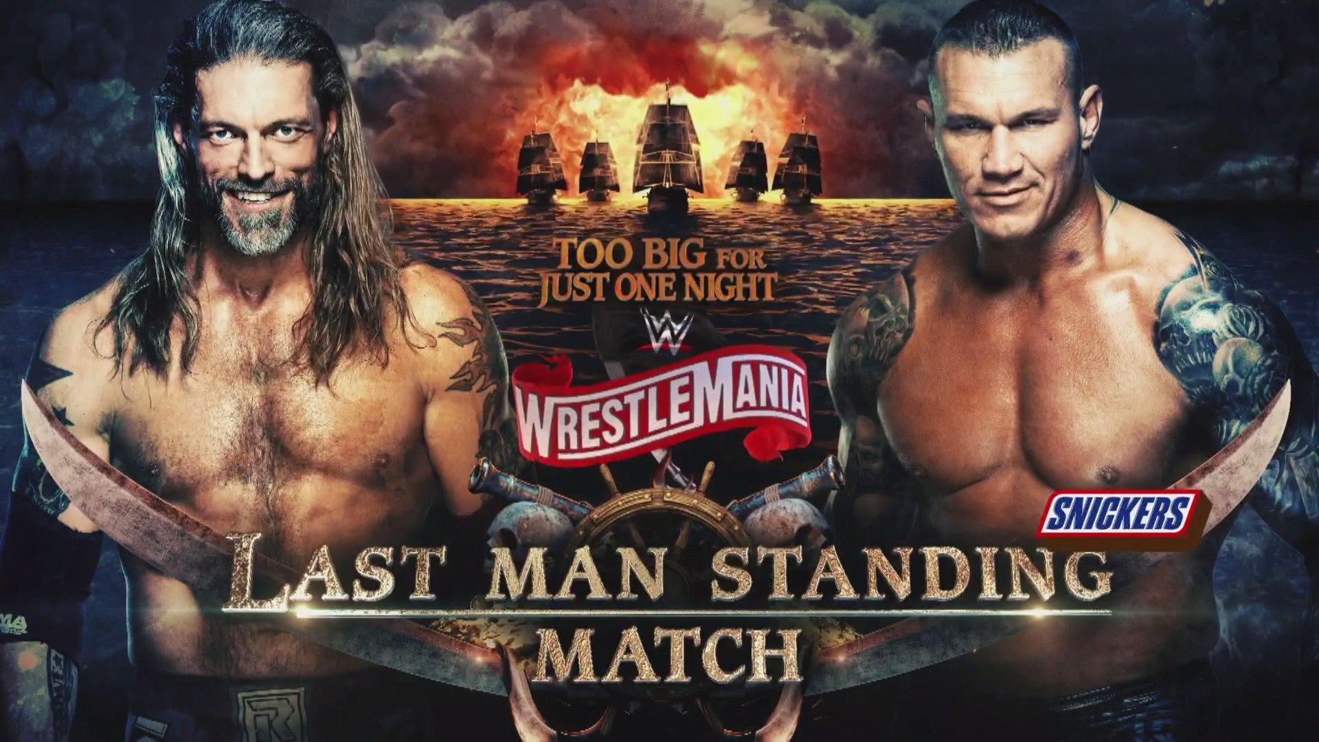 Cartel de WrestleMania 36