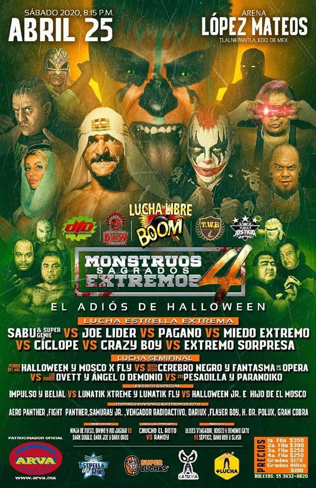 Sabú regresa a México a la gira de despedida de Halloween 2