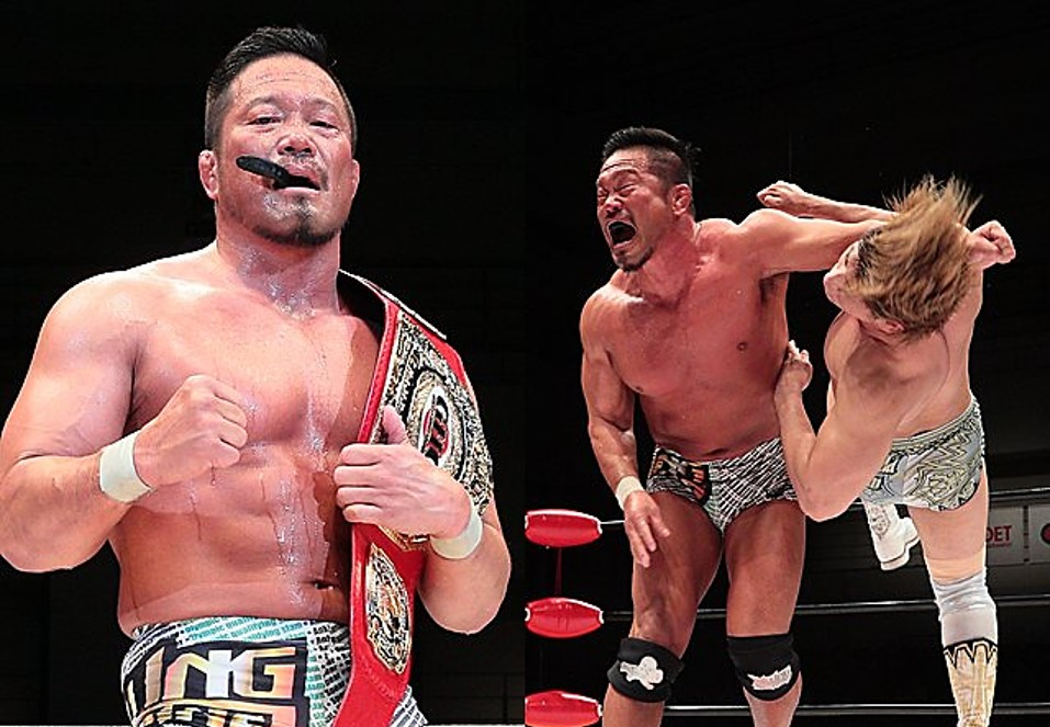 "NOAH: ""20th Anniversary NOAH the Chronicle Vol. 1"" Sugiura firma campeón 2"