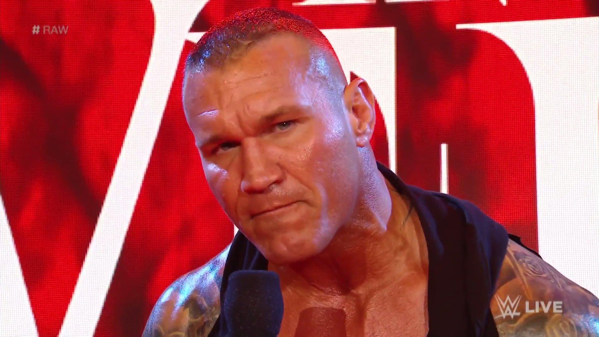 WWE RAW (23 de marzo 2020) | Resultados en vivo | La respuesta de Randy Orton 29
